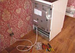 Подключение электроплиты. Курганские электрики.