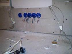 Электромонтажные работы в квартирах новостройках в Кургане. Электромонтаж компанией Русский электрик