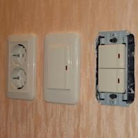 Монтаж, ремонт, замена выключателей Курган